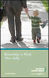 Returning to Work after Baby - Booklet