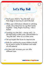 Have a Ball Together!- Parent resource activity card