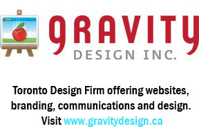 Gravity design Logo + Toronto Design Firm offering websites, branding, communications and design. Visit www.gravitydesign.ca