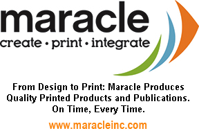 LOGO for Maracle Press . Refers to www.maracleinc.com